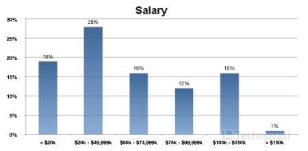 Blogger salary survey 2008