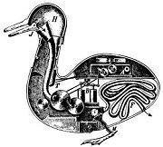 Canard Digérateur (Digesting Duck robot)