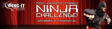 Extreme Improv Ninja Challenge