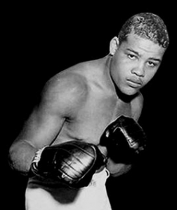 Boxer Joe Louis