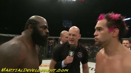 Kimbo Slice and Seth Petruzelli