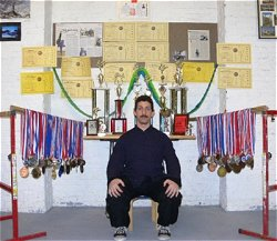 Mike Martello's Kungfu Trophies
