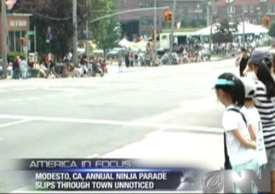 Ninja parade