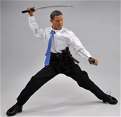 Barack Obama, Samurai