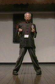 Tsui Sheung Tin demonstrates Wing Chun