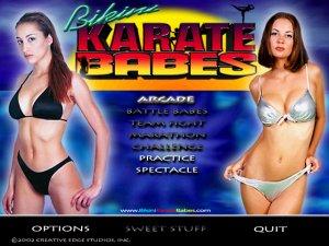 Nude bikini karate babes