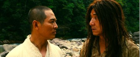Jet Li and Jackie Chan in Forbidden Kingdom