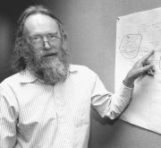 Jon Postel, father of the Internet