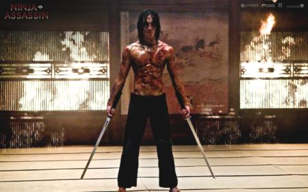 Rain as 'Ninja Assassin'