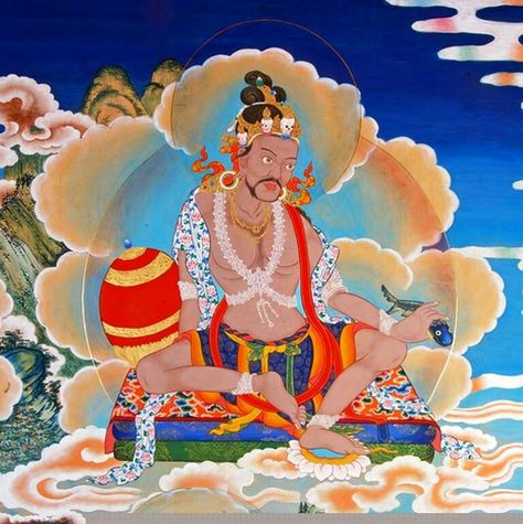 Tilopa, with aura